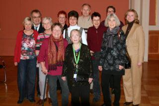 Experten aus Betroffenheit beim Neujahrsempfang 2016 der Rheuma-Liga Berlin.