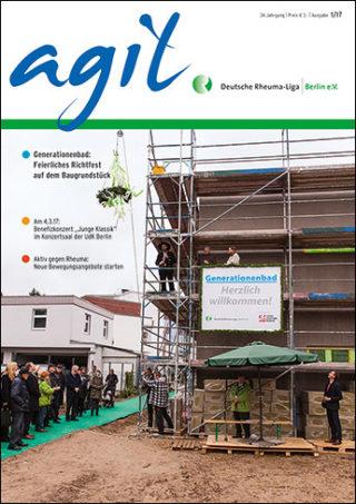 Cover vom agil Ausgabe 1/2017