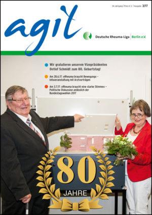 Cover der Agil Ausgabe 3/2017