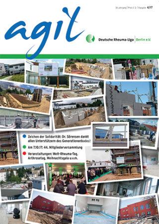 Das Cover der agil Ausgabe 4/2017
