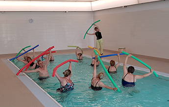 Wassergymnastik Kurs im Generationenbad