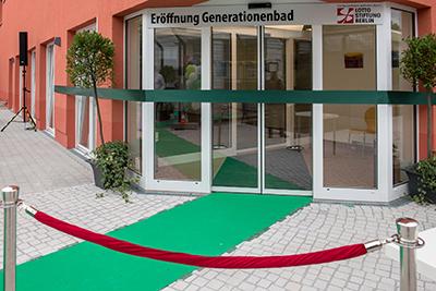 Eröffnung Generationenbad