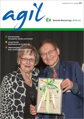 Cover der Ausgabe 1/2019 vom agil