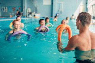 Gruppengymnastik Funktionstraing im Wasser