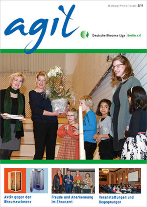Das Cover der agil Ausgabe 3/2019