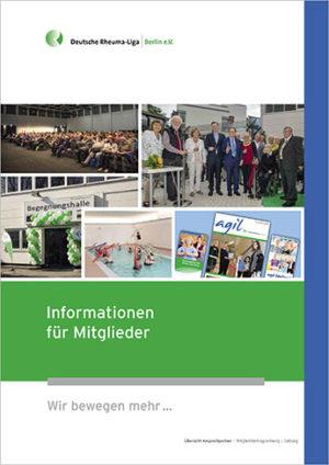 Screenshot der Broschüre Informationen für Mitglieder