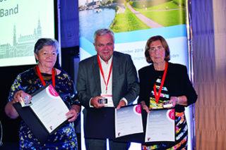 Verleihung der Kußmaul-Medaille für den Einsatz in der Rheumatologie