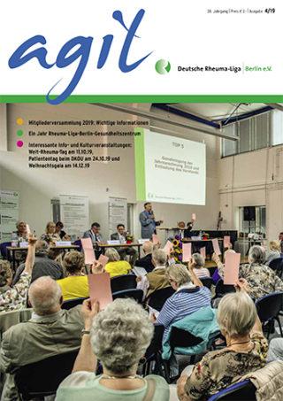 Mitgliederzeitschrift agil Ausgabe 4.2019