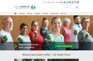 Relaunch Website Rheuma-Liga.de