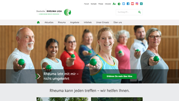 Relaunch Website Rheuma-Liga.de